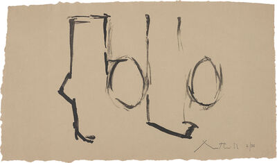 Robert Motherwell, 'Spanish Elegy I', 1975
