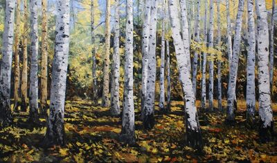 James Cook, 'Three Sisters Aspen Stand'