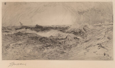 Thomas Moran, 'The Resounding Sea', 1886