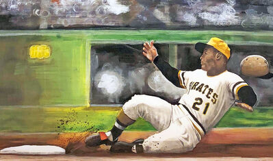 Margie Lawrence, 'Roberto Clemente', 2015
