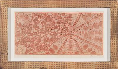 Judy Pfaff, 'Untitled (colored lace)', 2005