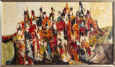 John Kinnear, 'Highland Figures', ca. 1960