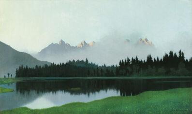 Felix Heuberger, 'Ascending Fog in front of Wilder Kaiser', 1920