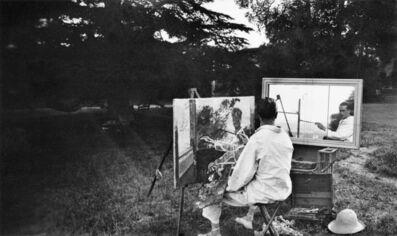Jacques Henri Lartigue, 'Autoportrait au déclencheur, Rouzat', 1923