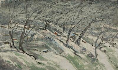Elene Akhvlediani, 'Wind', 1968