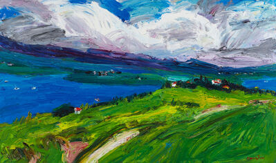 Hong-jik Shin, 'Wind from the hill', 2015
