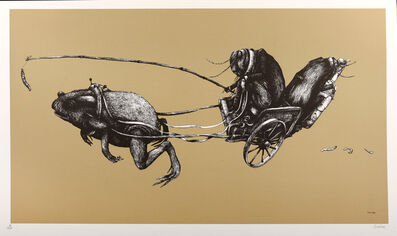 Ericailcane, 'Frog Chariot', 2008
