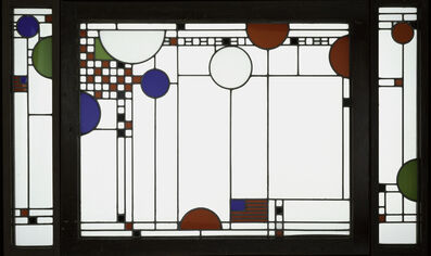 Frank Lloyd Wright, 'Avery Coonley Playhouse: Triptych Window', 1912