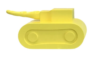 Simone D'Auria, 'Yellow Un-Fuck You Unconventional Think Fuck Tank ', 2019