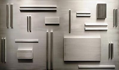 Arthur Carter, 'Aluminum Elements Spaced According to Fibonacci', 2008