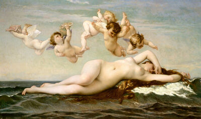Alexandre Cabanel, 'The Birth of Venus', 1863