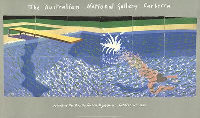David Hockney, 'A Diver', 1982