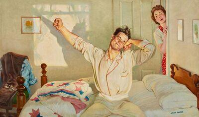 John Philip Falter, 'Waking Up', Mid 20th Century