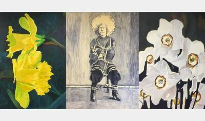 Colin Waeghe, 'White Narcissus', 2020