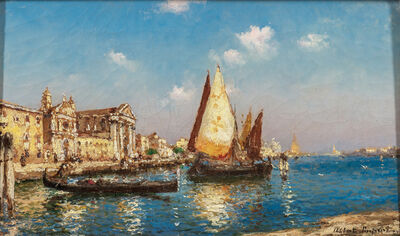 Albert C. Hubert, 'Venice View'