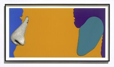 John Baldessari, 'Face with Nose and Ear', 2006