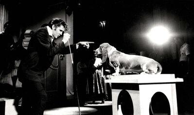 Alfred Wertheimer, 'Elvis Presley with Hound Dog', 1960