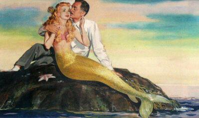 Ren Wicks, 'Mr Peabody and the murmaid', 1948