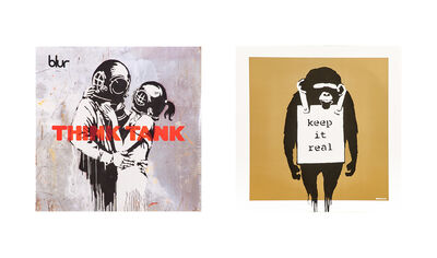 Banksy, 'Think Tank LP album, 2003 and Keep it Real (Gold) LP album, 2008', 2003/2008