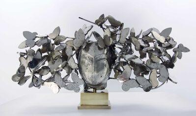 Manolo Valdés, 'Mariposas Plateadas I', 2017