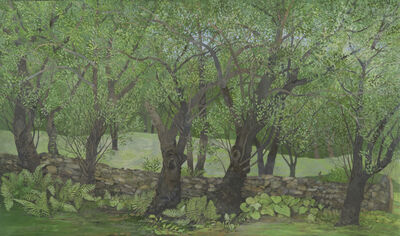 Gary Milek, 'Ancient Apple Trees and Stone Wall', 2012