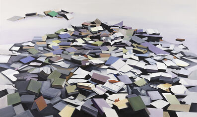 Jeffrey Long, 'Abandoned Books 3', 2021