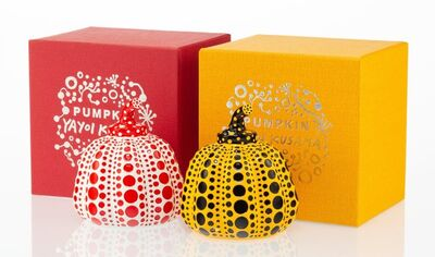 Yayoi Kusama X MoMa, 'Red and Yellow Pumpkin (two works)', n.d.