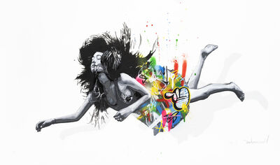 Martin Whatson, 'Falling Girl', 2014