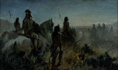 Ernest-Étienne Narjot de Francheville, 'On the Warpath', circa 1851-1895