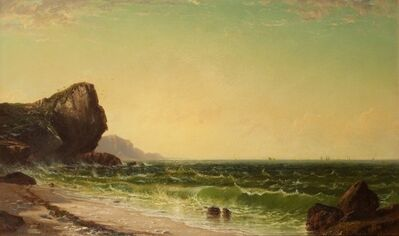 Alfred Thompson Bricher, 'Newport Coast'
