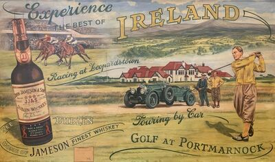 Unknown European, 'Jameson, Experience the Best of Ireland', Early to Mid 20th Century