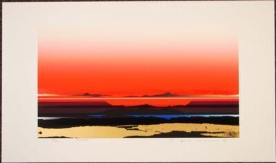 Tetsuro Sawada, 'Brilliant Views', 1987