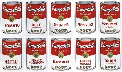 Andy Warhol, 'Campbell's Soup I Portfolio', 1968