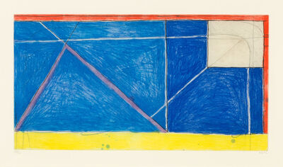 Richard Diebenkorn, 'RED-YELLOW-BLUE', 1986