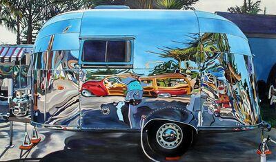 Taralee Guild, 'Airstream Reflection Wooden Stationwagon', 2017