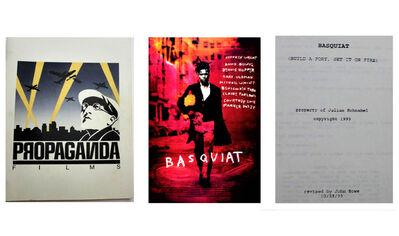 """Jean-Michel Basquiat, '""""Basquiat: Build a Fort, Set it on Fire"""" (early title), Movie Script (early draft), Ex. Property of Julian Schnabel', 1993"""