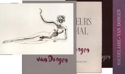 Kees van Dongen, 'Les fleurs du mal - Hand signed original edition', 20