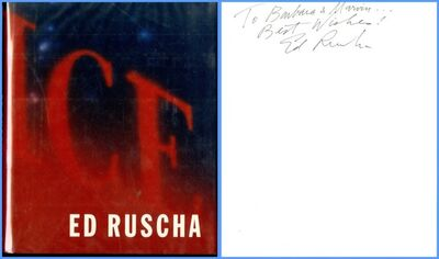 Ed Ruscha, 'Ed Ruscha (Hand Signed and inscribed to former owner of 20th Century Fox)', 2000