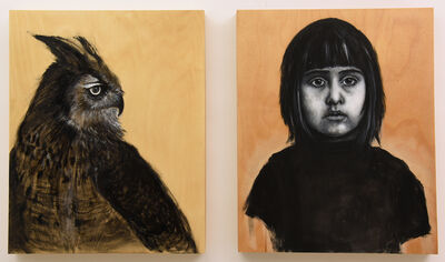 Holly Wilson, 'Two Sides of the Self, Zoe and the Owl', 2019