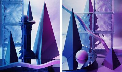 Barbara Kasten, 'Diptych I 84 (CONSTRUCT XXVI)', 1984