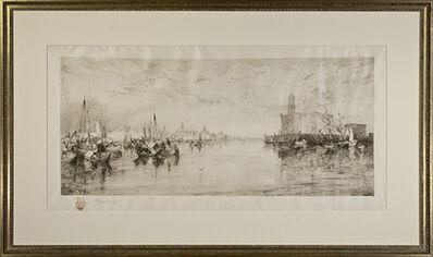 Thomas Moran, 'The Harbor of Vera Cruz, Mexico (Klackner #53)', 1885