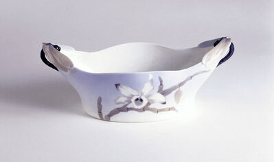 "Royal Copenhagen Porcelain Manufactory, '""Dragonfly"" bowl', ca. 1900"