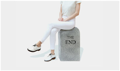 Maurizio Cattelan, 'The End (granite)', 2016