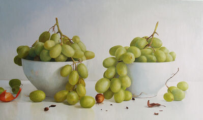Randall W.L. Mooers, 'Two Bowels with Grapes ', 2019