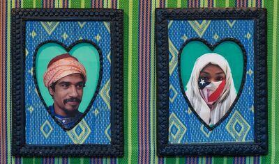 Hassan Hajjaj, 'Hamid and Peace (lovers)', 2000