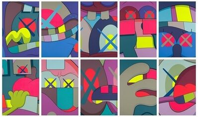 KAWS, 'Ups And Downs (complete set of 10)', 2013