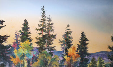 Tom Howard, 'Evening Pines', 2017