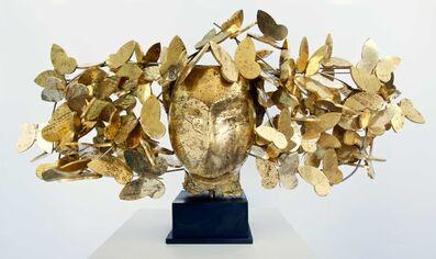 Manolo Valdés, 'Mariposas doradas', 2017