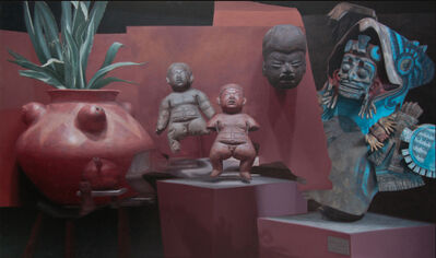 PABLO SANTIBÁÑEZ SERVAT, 'Mexica Rojo', 2016