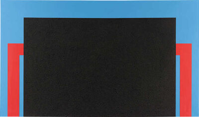 Peter Halley, 'Black Cell', 1988